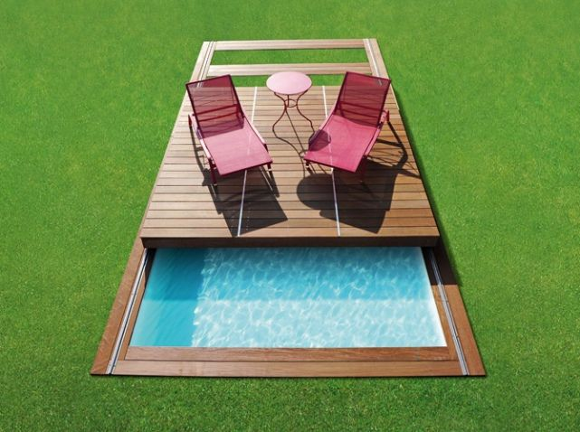 12 best pool removal images on pinterest mini pool. Black Bedroom Furniture Sets. Home Design Ideas