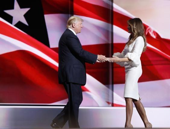 Melania Trump's speech grabs spotlight at Republican convention - http://conservativeread.com/melania-trumps-speech-grabs-spotlight-at-republican-convention/