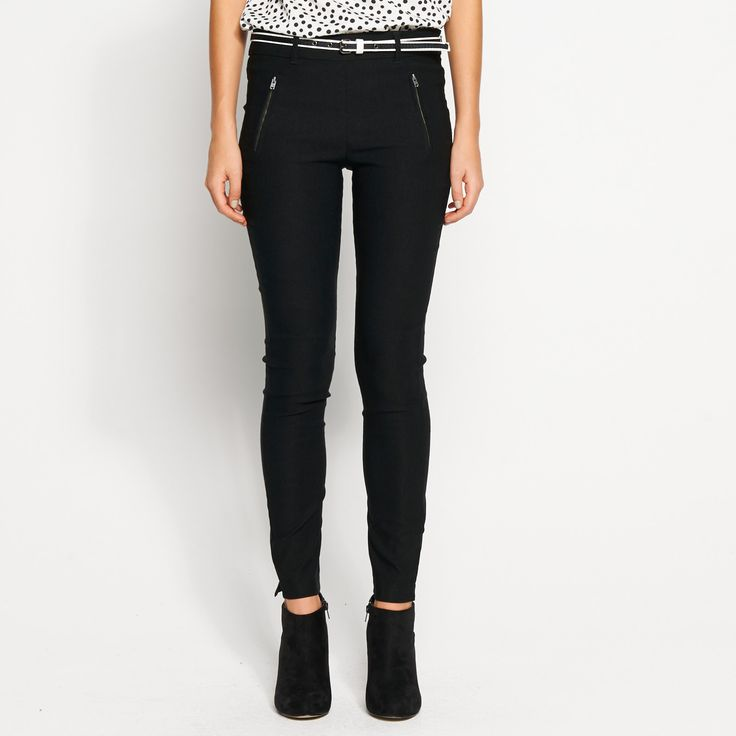 Belted Tapered Pant ($21.00) from Dotti.com.au