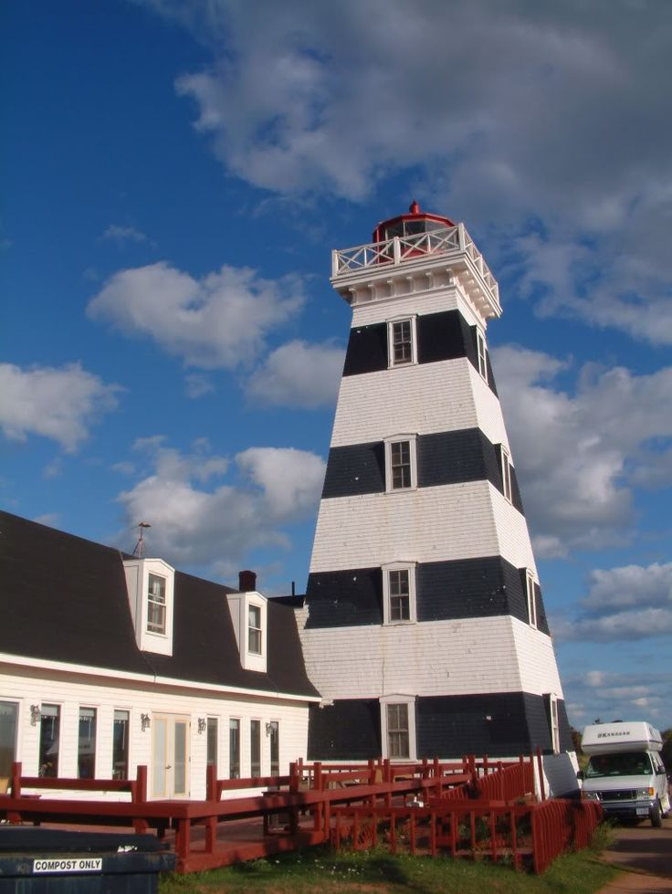 ✯ West Point Lighthouse, Prince Edward Island