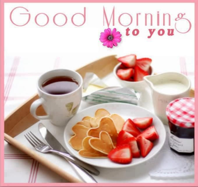 Good Morning Tea Love : Good morning tea wishes greetings sms inspirational quotes