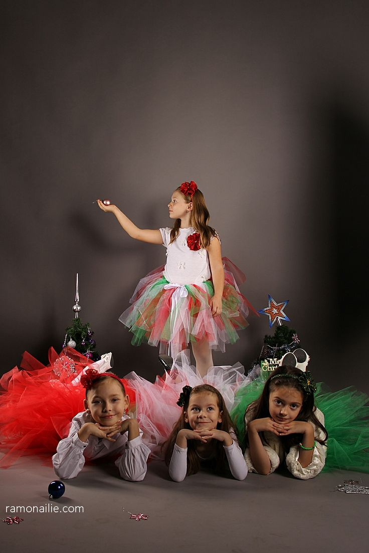 Photo Session for Christmas - Angi, Eve, Sara & Sofi ♥