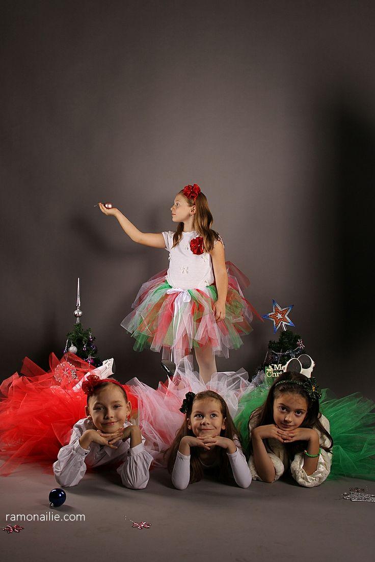 Photo Session for Christmas - Angi, Eve, Sara & Sofi ♥
