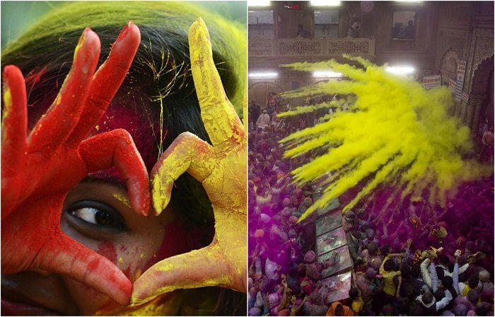 Фотография: Индийская Масленица: 20 атмосферных фотографий праздника весны Холи http://kleinburd.ru/news/fotografiya-indijskaya-maslenica-20-atmosfernyx-fotografij-prazdnika-vesny-xoli/