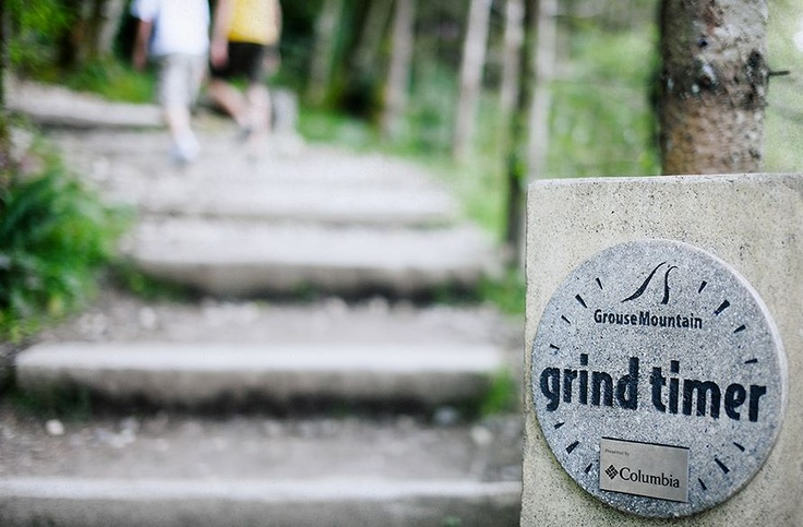 Grouse Grind, Check. Never ceases to be torturous, but luckily there is beer at the top!
