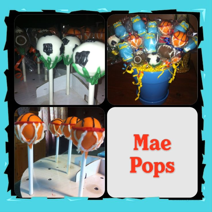 baby shower sports themed cake pops sports theme baby shower