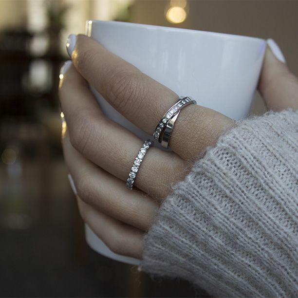 Stainless steel rings from Ingnell Jewellery. #rings #steel #jewelry #elegant www.ingnelljewellery.com