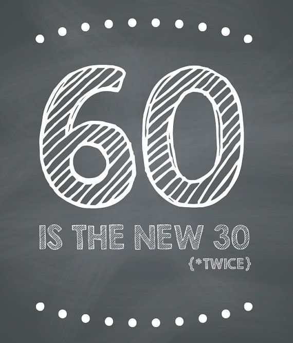 Funny 60th Birthday Card Printable by CleverPrintables on Etsy, $2.00 USE OTHER #'s too