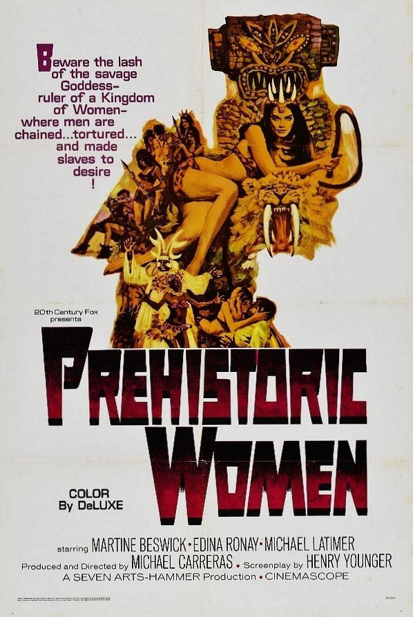 PREHISTORIC WOMEN 1967 Martine Beswick, Edina Ronay