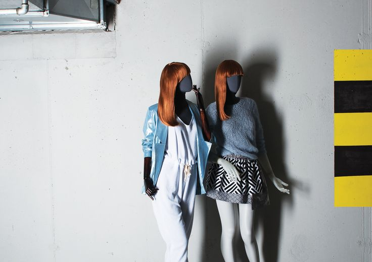 OLD MODERN Collection by More Mannequins #FemaleMannequins #dudzinska #fashion