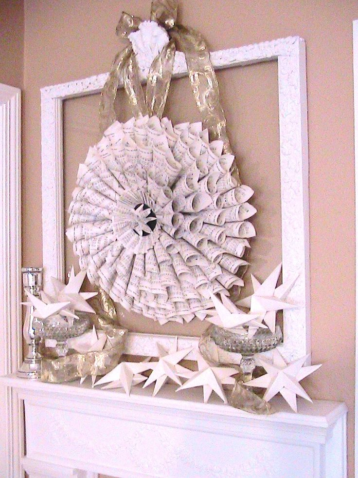 Katty's Cosy Cove: Folk Art Inspired Christmas Tree. Paper Wings And Give-away