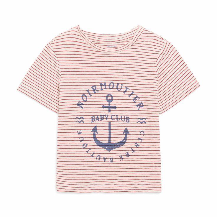 T-shirt imprimé ROUGE Bout'Chou – Monoprix.fr