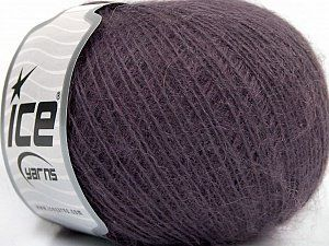 Briz Alpaca Maro  This is an excellent yarn with high-content of Alpaca, Mohair, and Merino Wool. Works excellent for your fine-weight patterns with more than 30 plain and melange colors. Conţinut de fibre 40% Lână Merino , 30% Acrilic, 20% Alpaca, 10% Mohair, Maroon, Brand Ice Yarns, Yarn Thickness 2 Fine  Sport, Baby, fnt2-46581