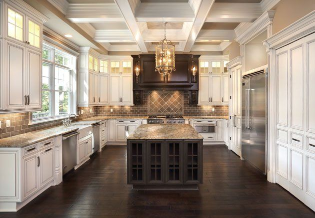 Spacious kitchen design from Barrington Homes, Custom Home Building