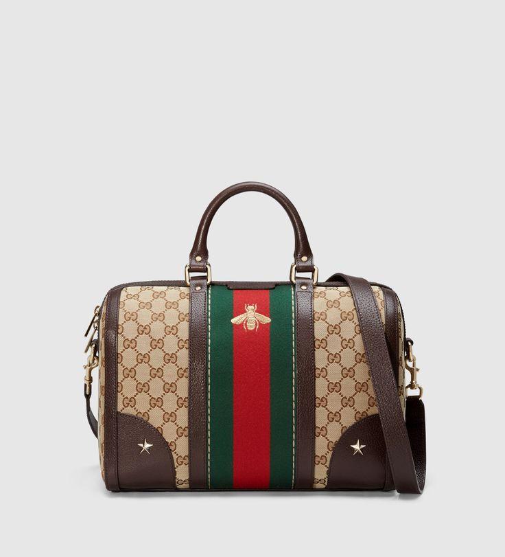 Gucci - borsa vintage web ricamata 406868KQWZG8869