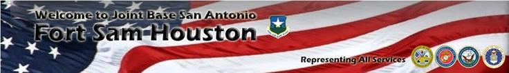 Fort Sam Houston Military website