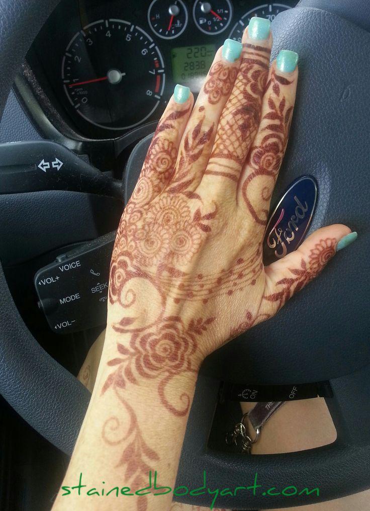 gulf / khaleeji style natural henna
