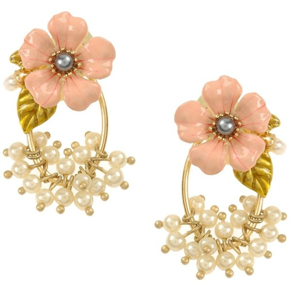LES NEREIDES Earrings ($108) ❤ liked on Polyvore