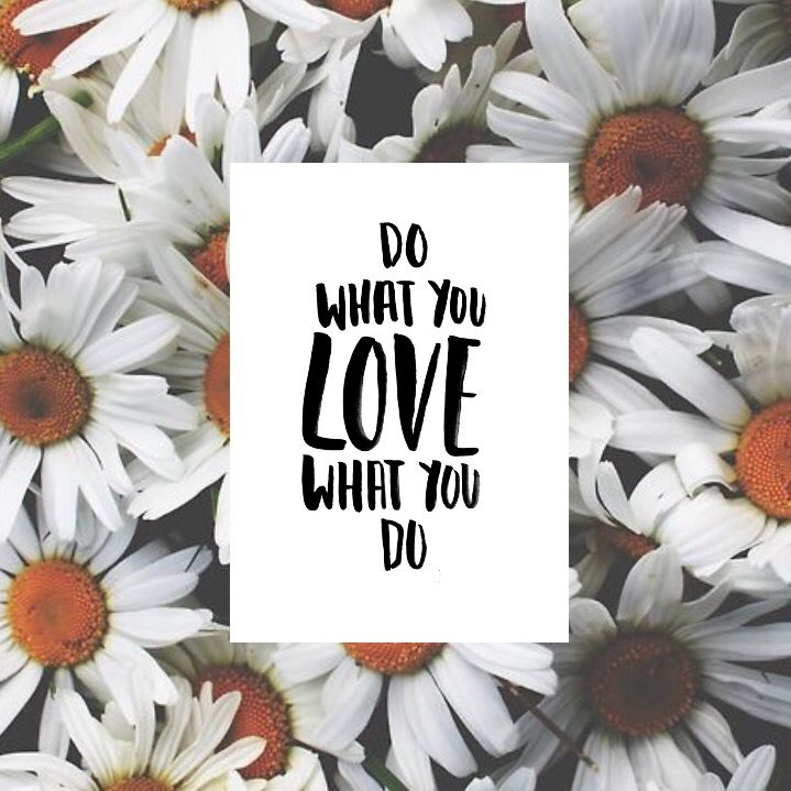 Do What You Love Love What You Do Print handmade typography. Available in A3, A4 and A5. Only @ www.sunflowerlab.com.au
