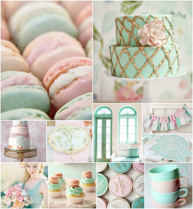 Mint and pink inspiration