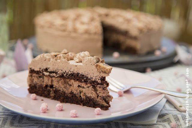 Schoko-Rum-Torte mit Knusperstückchen für Papa | Wos zum Essn Blog