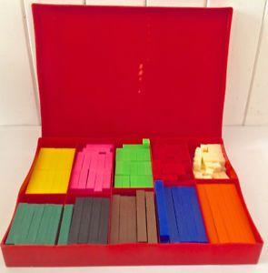 Vintage. Collection. Bâtonnets à calcul Colormath. L