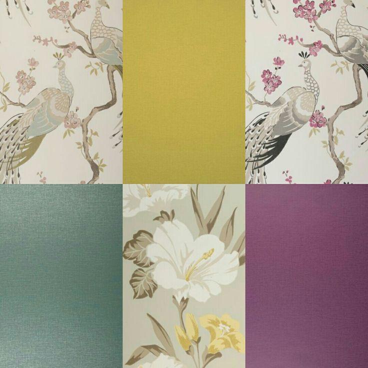 Gorgeous colours. Love these bold but elegant prints