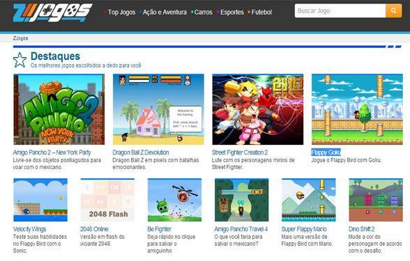 Gosta De Games Entao Conheca O Mais Novo Site De Jogos Online Do Brasil O Zjogos La Voce Encontra Uma Extensa Selecao Dos Mai Jogos Online Jogos Novo Site