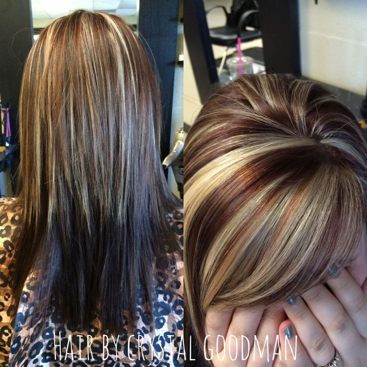 Hair By Crystal Goodman Medium Length Hair Warm Brown