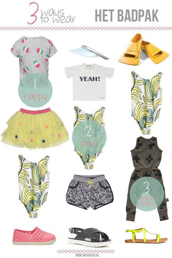 3 ways to wear... THE BATHINGSUIT. #girls #doctorfashion #moodkids http://www.moodkids.nl/trend/fashion-trend/2015/05/27/hoe-draag-je-een-badpak