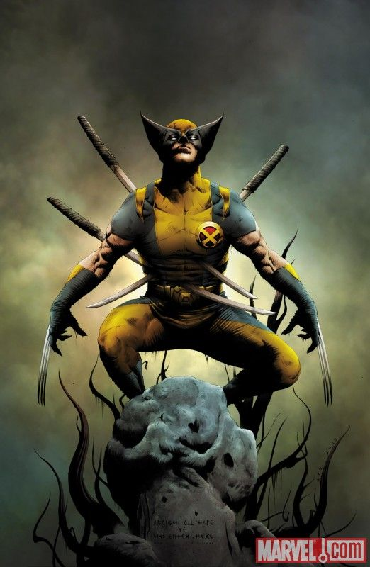 Check out this awesome cover to Wolverine #1 (2010) cover by Jae Lee! http://marvel.com/images/gallery/character/1009718/images_featuring_wolverine/image/798548