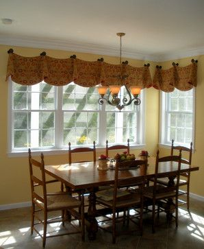Custom Window Valances   Traditional   Kitchen   Other Metro   Michelle  Jamieson Interiors / New
