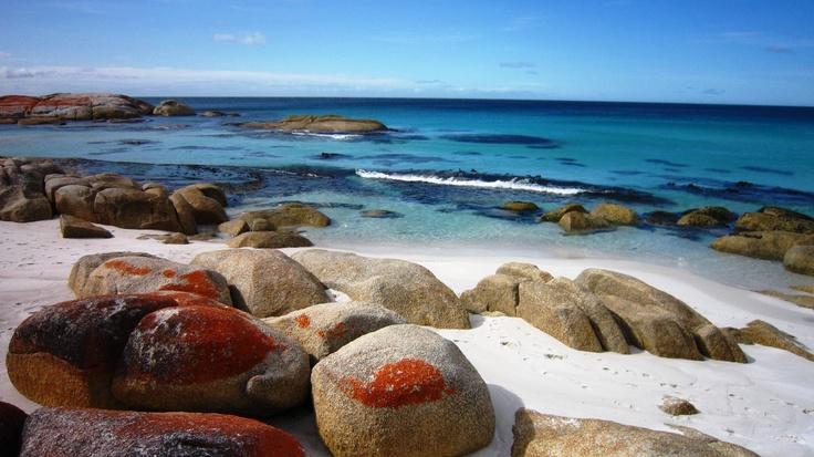 Bay of Fires, #Tasmania, #Australia. #travel.