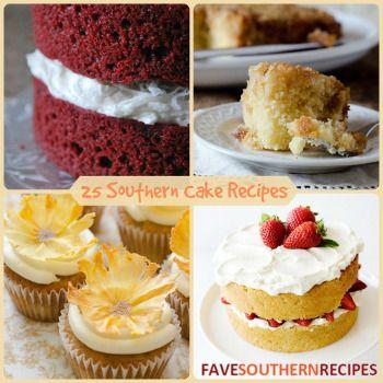 25 Southern Cake Recipes | FaveSouthernRecipes.com