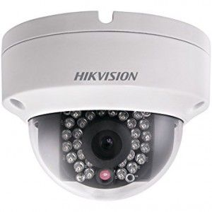 Hikvision Outdoor Dome, 3MP/1080p, H264, 6mm,  Day/Night,  IR (30m), 3-Axis, uSD, IP66, PoE/12VDC