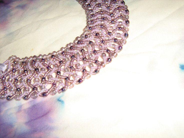 Collar  Pink Mix 003, detail.