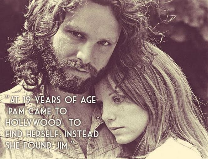"""""""At the age of 19 she came to Hollywood to find herself, instead she found Jim."""" -- John Densmore on Pamela Courson #jimmorrison #pamelacourson #thedoors #pamelacoursonmorrison"""