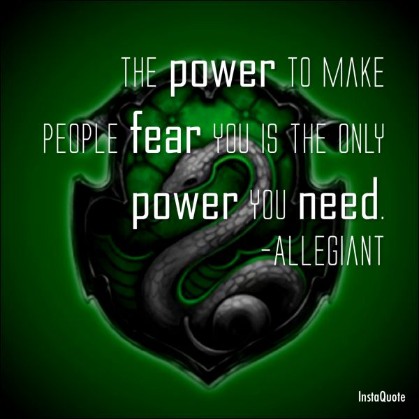 Slytherin quote InstaQuote