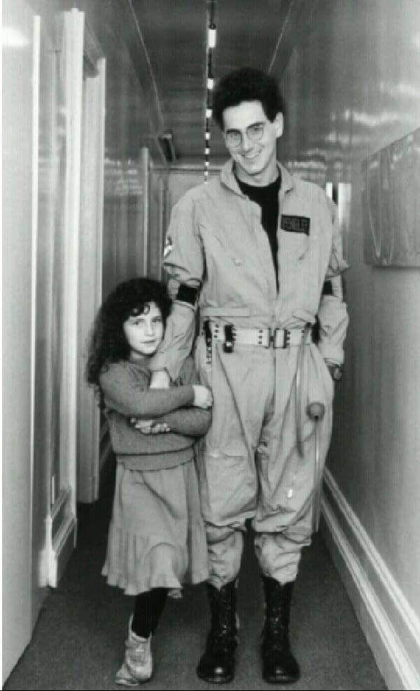 Harold Ramis and his daughter Violet.