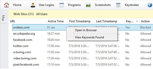 Parental Controls #internet #filter, #block #websites, #web #filter, #porn #filter, #keylogger, #parental #controls, #program #blocker, #screenshots #capture. http://sudan.nef2.com/parental-controls-internet-filter-block-websites-web-filter-porn-filter-keylogger-parental-controls-program-blocker-screenshots-capture/  # HomeGuard Activity Monitor Porn Filter, Keylogger, Screenshots Based on User Actions, Program Blocker, Internet Time Restrictions and More. Detailed log of visited websites…