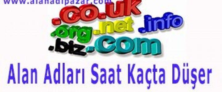 Alan Adları Saat Kaçta Düşüyor? cevabı b makalede.  http://alanadipazar.com/blog/61/alan-adlari-saat-kacta-dusuyor.html