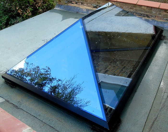 Pure Glass Roof Lantern Roof Lantern Glass Roof Green Roof System