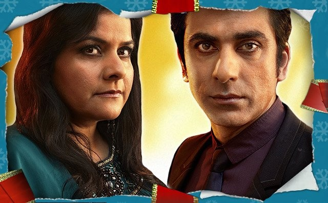 Zainab and Yuzef played by Nina Wadia and Ace Bhatti.