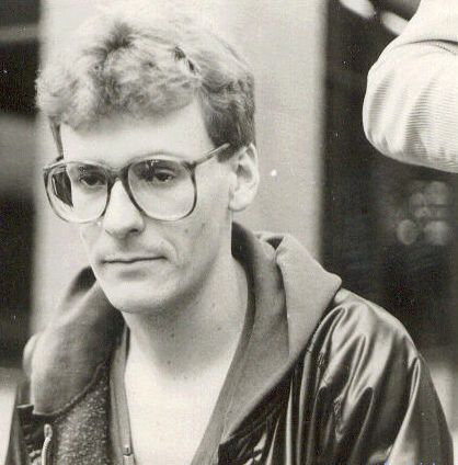Greg Proops as a young man