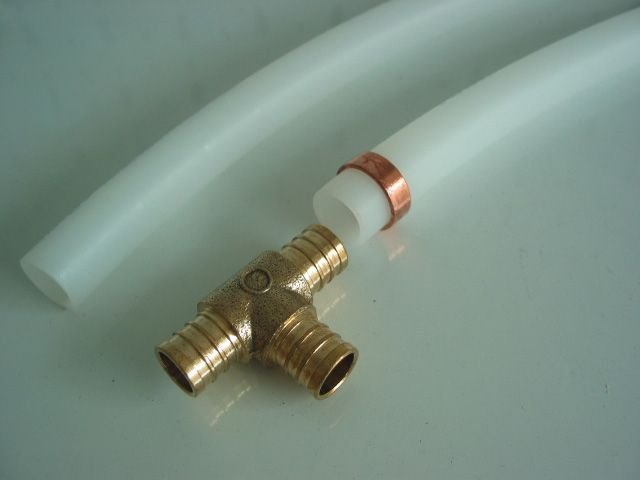 Gold Pex Pipe Fittings