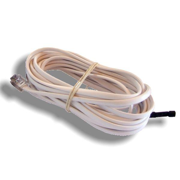 http://www.termometer.se/Sensor-temperatur-1Wire-3m.html  Sensor temperatur 1Wire 3m - Termometer.se  Enkel digital temperaturgivare för inomhusbruk, kommunicerar över 1-Wire (MicroLan). Givaren är konstruerad för anslutning till HWg-STE eller Poseidon.  Det är möjligt att ansluta upp till 10 av dessa sensorer parallellt med en enda buss, varje sensor identifieras med ett unikt serienummer. För mätning av temperaturgivare använder en integrerad del med en noggrannhet på ± 0,5 ° C...
