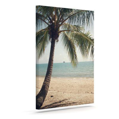 KESS InHouse Catherine McDonald Tropic of Capricorn Ocean Photography Art Canvas - CM1068AAC01