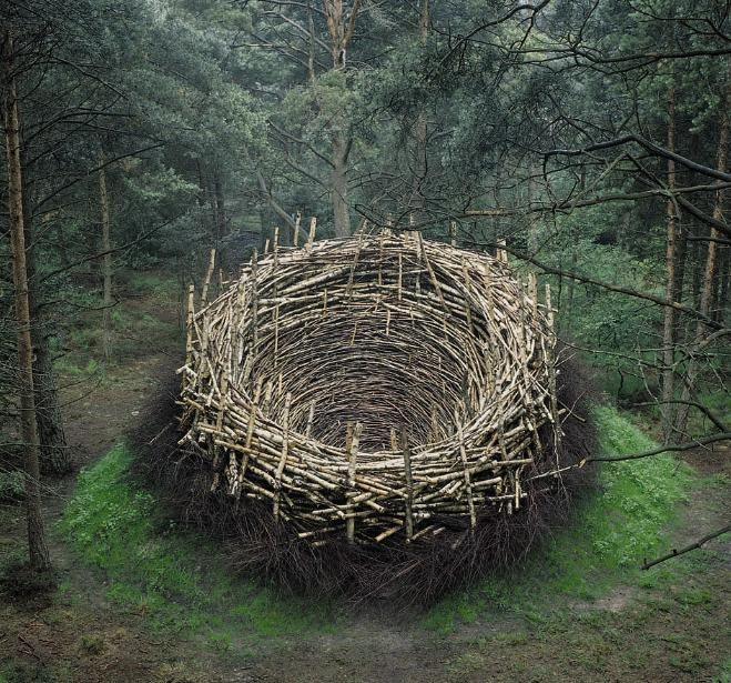 nature land art earthworks - Google Search