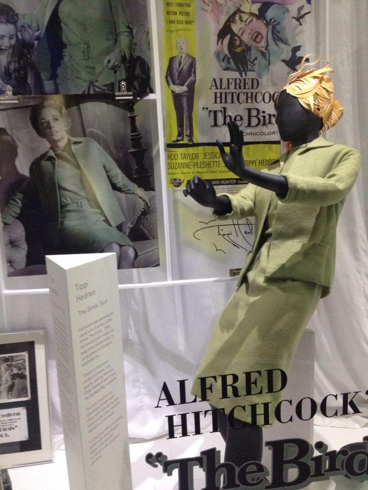 Tippi Hedren 'The Birds' - Iconic two piece at Newbridge Silver , Kildare , Ireland