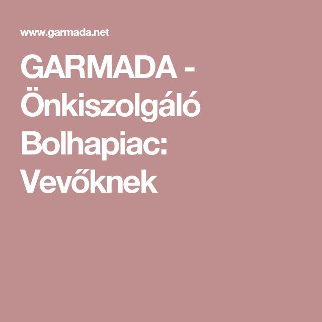 GARMADA - Önkiszolgáló Bolhapiac: Vevőknek